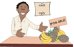 Idiom Definition - cash on the nail