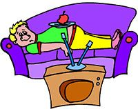Idiom Definition - couch potato