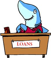 Idiom Definition - loan shark
