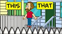 Idiom Definition - on the fence