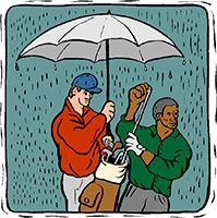 Idiom Definition - raining cats and dogs