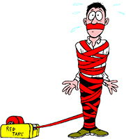 Idiom Definition - red tape