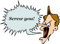 Idiom Definition - screw you