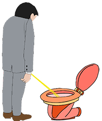 Idiom Definition - to take a whiz