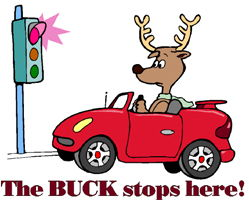 Idiom Definition - The buck stops here.