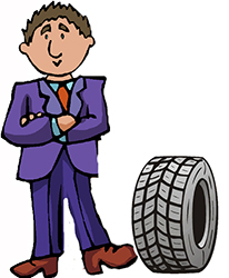 Idiom Definition - tire kicker
