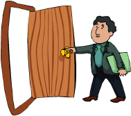 Idiom Definition - to leave the door open