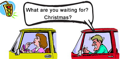 Idiom Definition - What are you waiting for? Christmas?