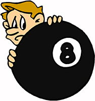 Idiom Definition - behind the eight ball