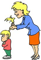Idiom Definition - get out of someone's hair