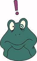 Idiom Definition - have a frog in your throat