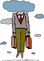 Idiom Definition - have your head in the clouds