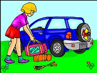 Idiom Definition - hit the road