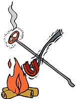 Idiom Definition - irons in the fire