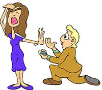 Idiom Definition - pop the question
