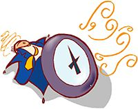Idiom Definition - pushed for time