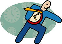 Idiom Definition - race against time