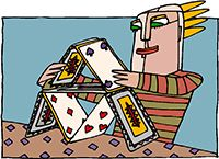 Idiom Definition - stack the deck