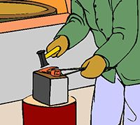 Idiom Definition - strike while the iron is hot