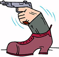 Idiom Definition - the boot is on the other foot