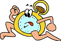 Idiom Definition - there's no time to lose