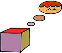 Idiom Definition - think out of the box