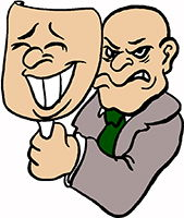 Idiom Definition - tongue in cheek