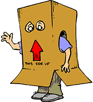 Idiom Definition - box in