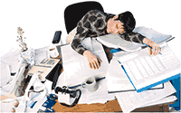 Idiom Definition - burned out