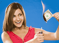 Idiom Definition - money to burn