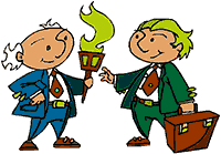 Idiom Definition - pass the torch