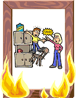 Idiom Definition - playing with fire